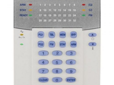 k32rf wireless led keypad 500x500 - LED šifrator za 32 con - brezžični (za MG-5000)